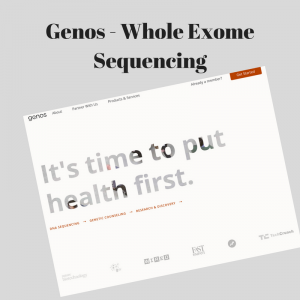 Genos - Whole Exome Sequencing1