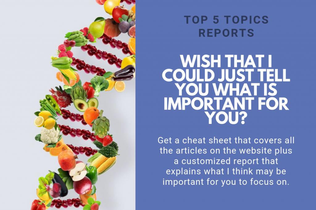 Get a Top 5 Topics Report